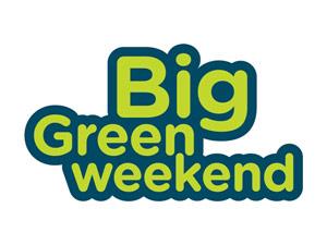 Big Green Weekend Logo