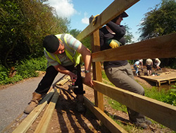 Constructing a fence