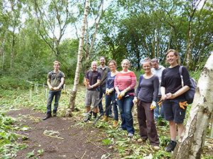 Staff on an employee action day