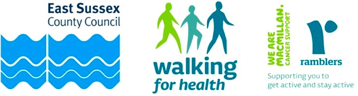 East Sussex health walk funders