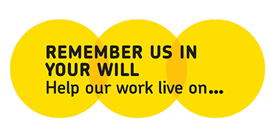 Remember a Charity logo - help our work live on...