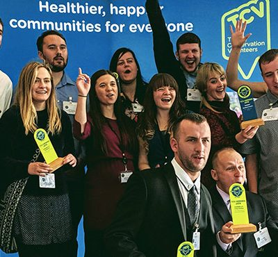 TCV Heroes at the 2019 awards ceremony in London