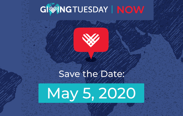Now Giving Tuesday graphic