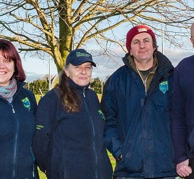 Part of our TCV team in Belfast
