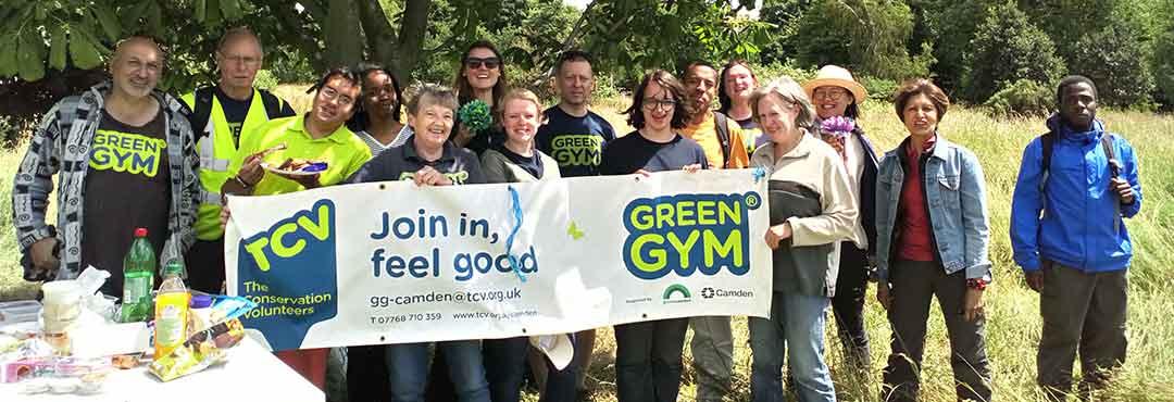 Members of Camden Green Gym