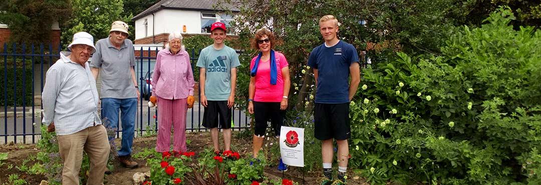 Hull Road Park volunteers