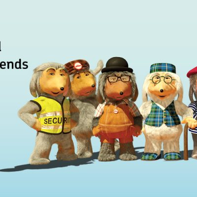 The Wombles and Remember A Charity Week