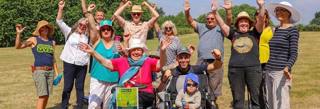 Cheering TCV volunteers in England