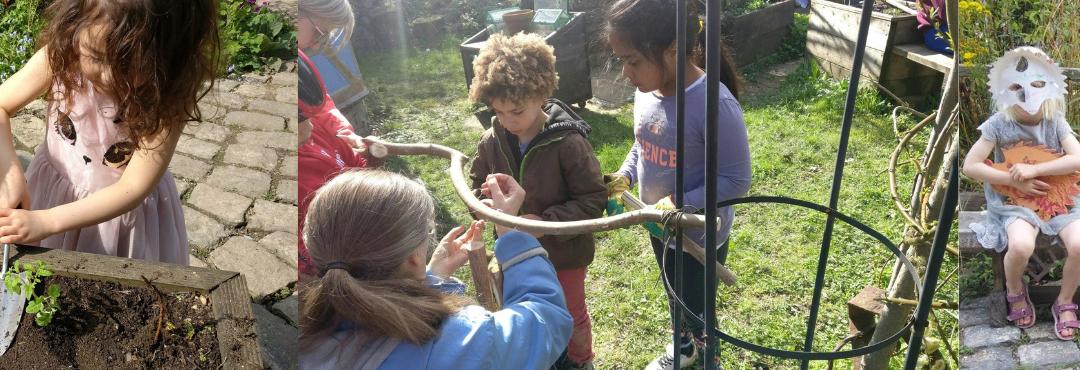 Children taking part in activities at Kids@StaveHill club