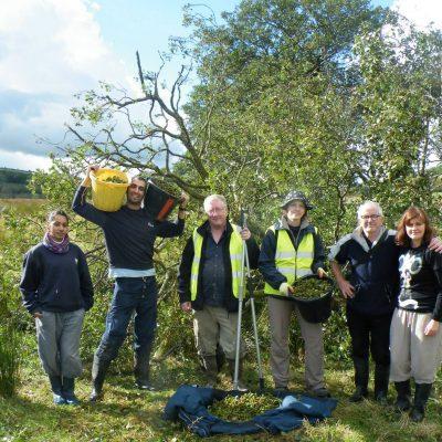 TCV tree nursery team