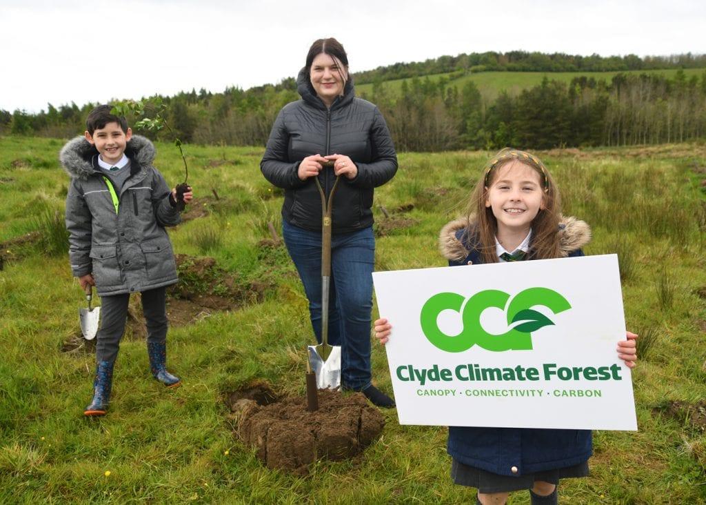 GCR Cabinet Chair Cllr Aitken at CCF inaugural tree planting