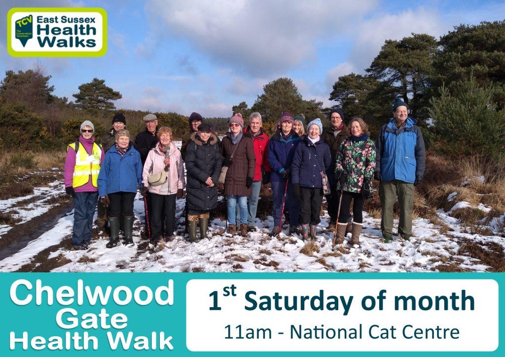 Chelwood Gate health walk