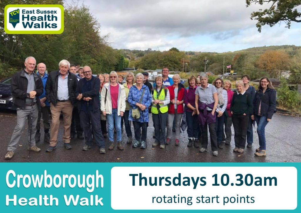 Crowborough health walk