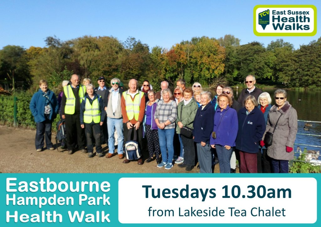 Eastbourne Hampden Park health walk