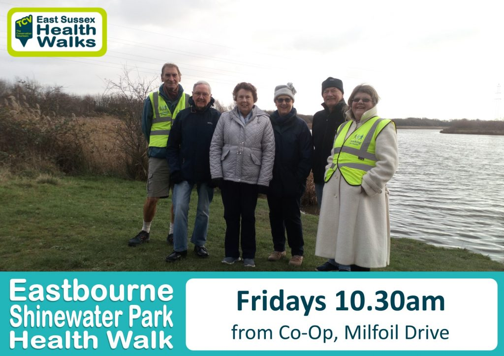 Eastbourne Shinewater Park health walk