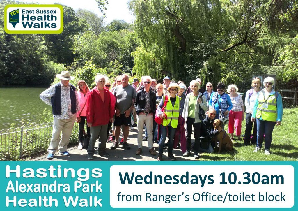 Hastings Alexandra Park health walk