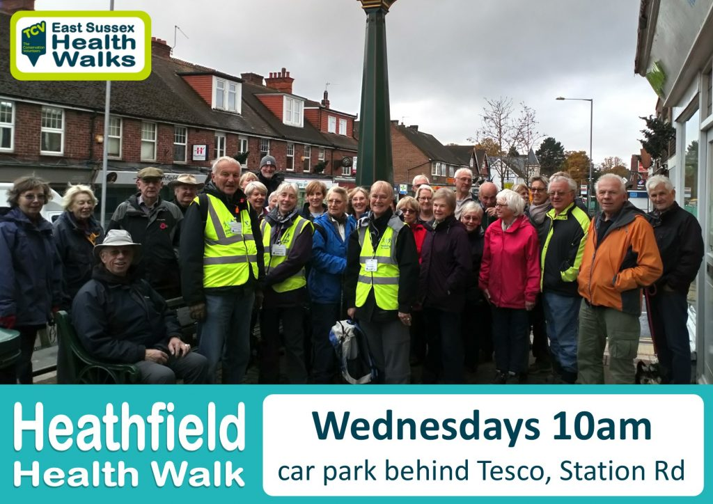 Heathfield health walk