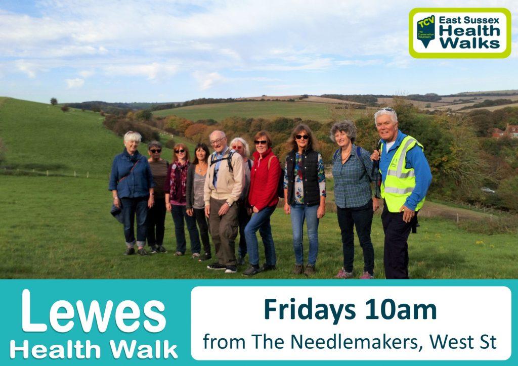 Lewes health walk