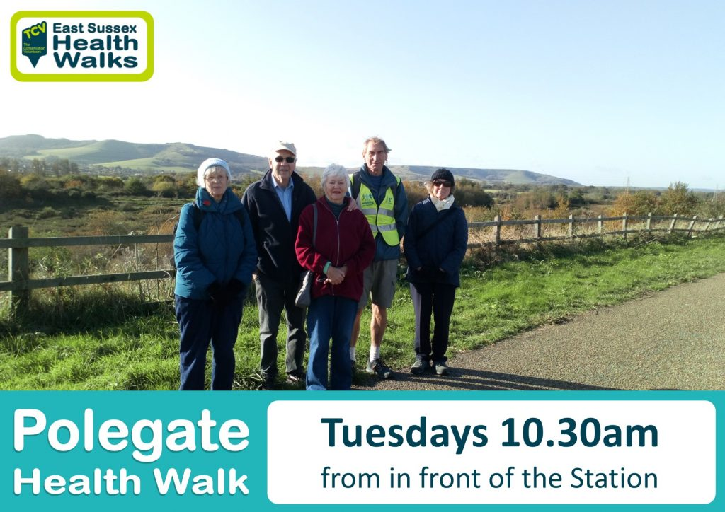 Polegate health walk