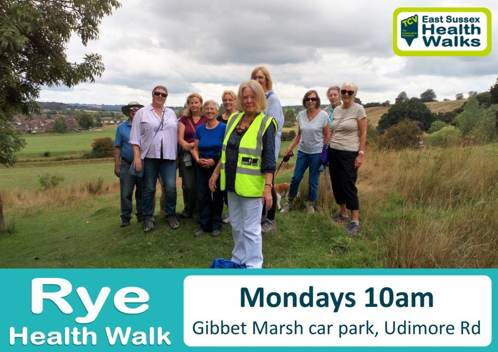 Rye health walk