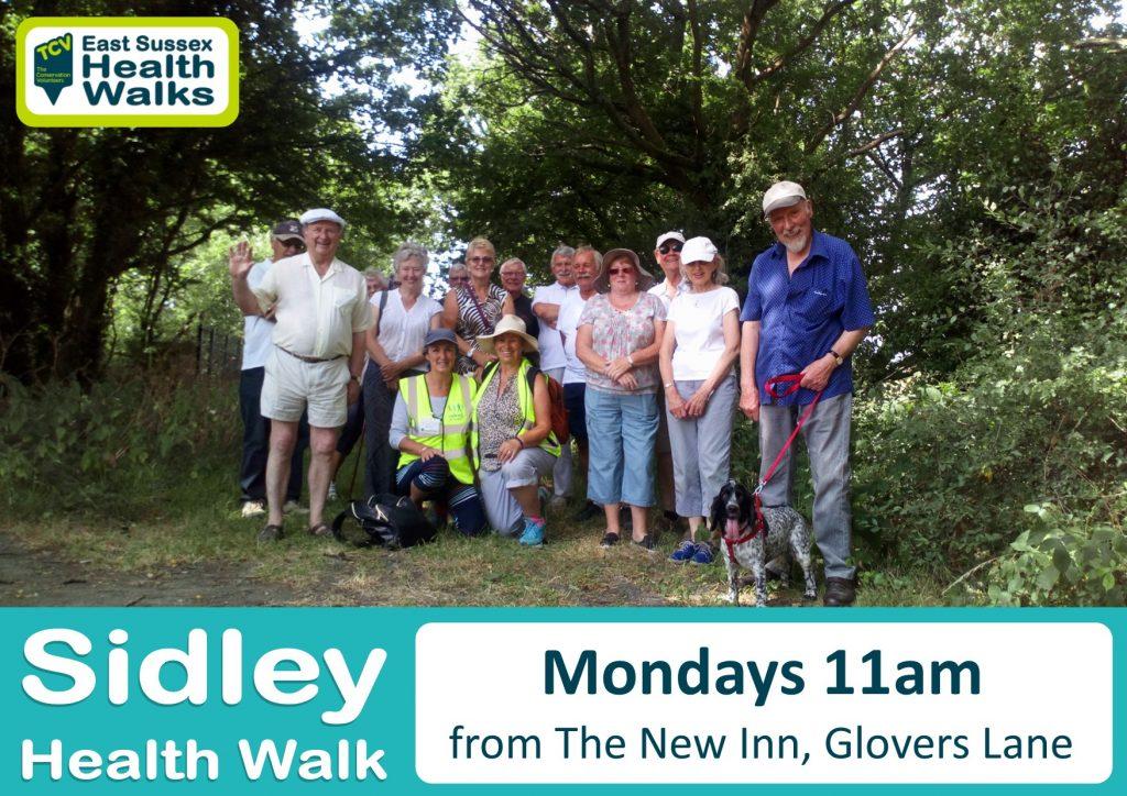 Sidley health walk
