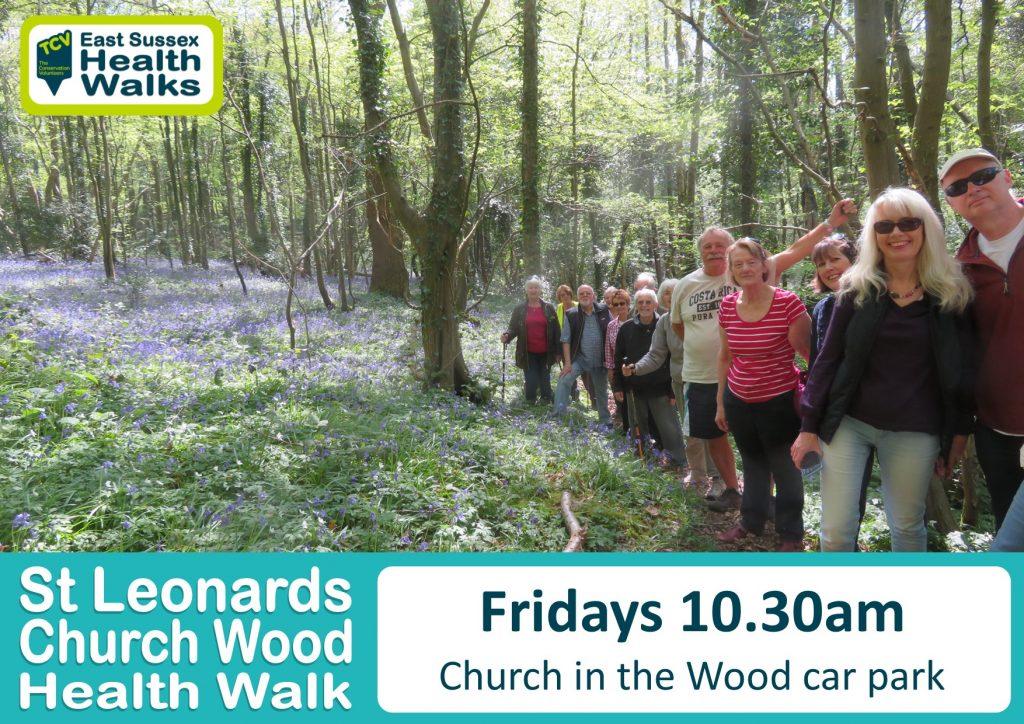 St Leonards Church Wood health walk