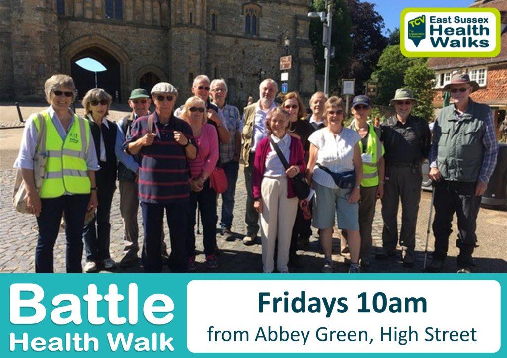 Battle health walk