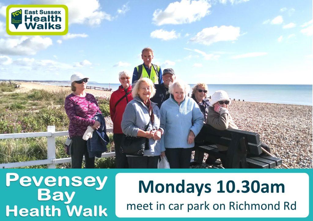 Pevensey Bay health walk